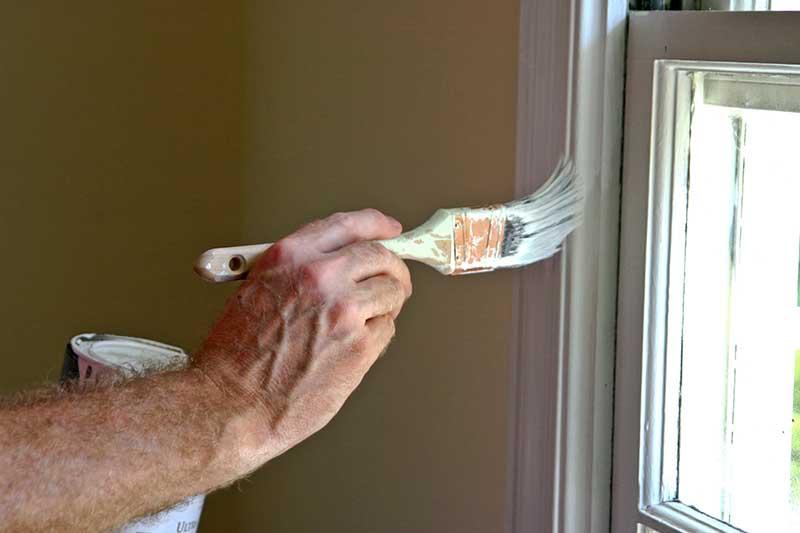 Pintura Esmalte en ventanas - Pintado de viviendas - Albertdecopaint