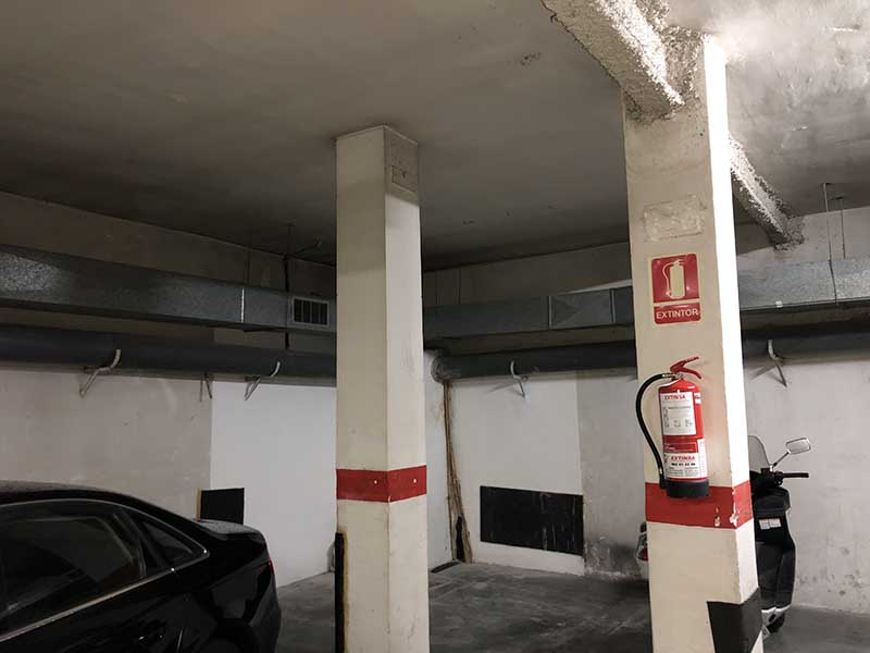 Pintar Parkings en Barcelona
