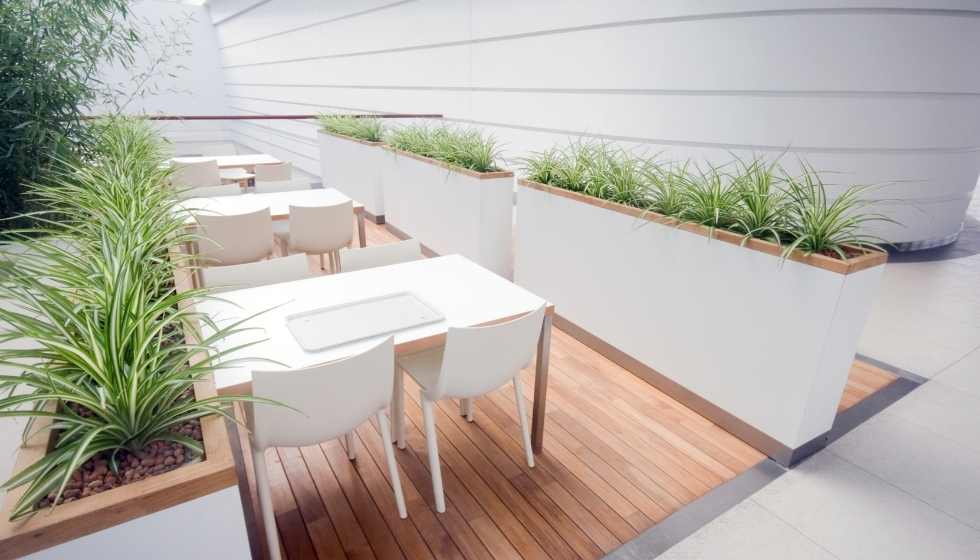 Colores blancos para restaurantes